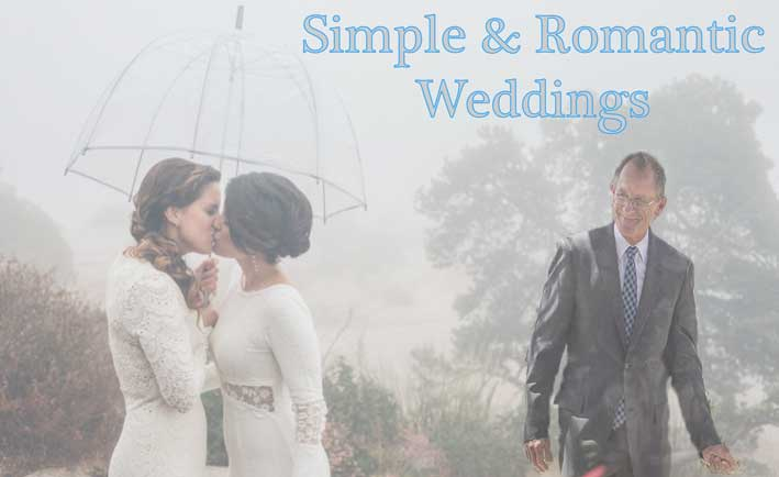 Simple and Romantic Weddings